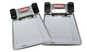 QuickCar Racing Products - QuickCar Aluminum Clipboard (Only) - Watches Are Not Included