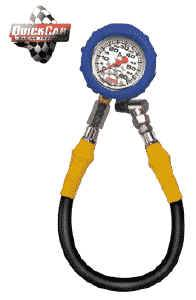 QuickCar Racing Products - QuickCar 0-40-PSI Standard Tire Pressure Gauge
