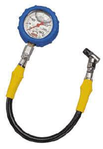 QuickCar Racing Products - QuickCar 0-60 PSI Liquid Filled Tire Pressure Gauge