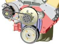 Powermaster Motorsports - Powermaster Alternator Mounting Bracket - Fits SB Chevy - Fits Either Side of Block