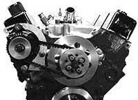 Powermaster Motorsports - Powermaster Alternator & Engine Mount Kit - SB Chevy