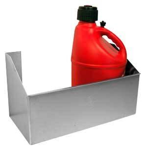 Pit Pal Products - Pit Pal Trailer Fuel Jug Rack - Holds 2 Jugs