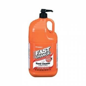 Permatex - Permatex® Fast Orange® Natural Citrus Pumice Formula Hand Cleaner - 1 Gallon Bottle w/ Pump