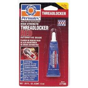 Permatex - Permatex® High Strength Threadlocker - Red - 6 ml Tube