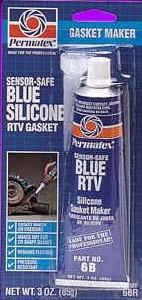 Permatex - Permatex® Sensor Safe Blue RTV Silicone Gasket Maker - 3 oz. Tube