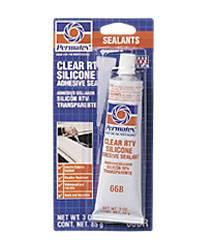 Permatex - Permatex® Clear Silicone Adhesive Sealant - 3 oz. Tube