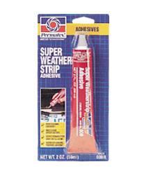 Permatex - Permatex® Super Weatherstrip Adhesive - 2 fl. oz. Tube