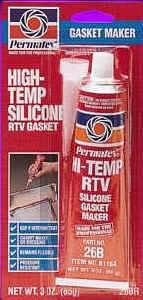 Permatex - Permatex® High-Temp RTV Silicone Gasket Maker - 3 oz. Tube