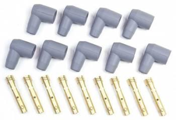 MSD - MSD 90° Socket Style Distributor Boot & Terminal Kit - (Set of 9)