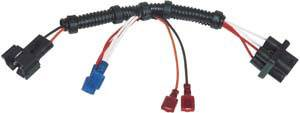 MSD - MSD Wiring Harness - MSD 6 to GM Dual Connector Coil