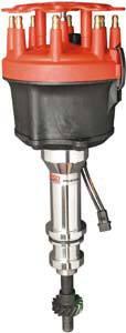 MSD - MSD Pro-Billet Ford Distributor - 351W for Use w/ Edelbrock Victor Jr. Intake Manifold
