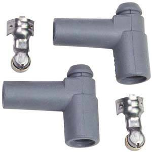 MSD - MSD 90° HEI Distributor Boots & Terminals (2 Pack)