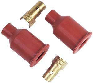 MSD - MSD Straight Socket Distributor Boots & Terminals (2 Pack)