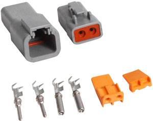 MSD - MSD Deutsch 2-Pin Connector - 16 Gauge