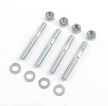 "Mr. Gasket - Mr. Gasket Plated Carburetor Studs - Extra Long - 2-1/2"" Length"