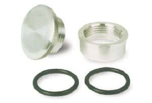 Moroso Performance Products - Moroso Rear End, Water Fill Cap Kit - Rear End/Water Fill Cap Kit - Steel Bung