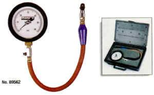 Moroso Performance Products - Moroso 0-15 PSI Pro Series Tire Pressure Gauge - 0-15 PSI