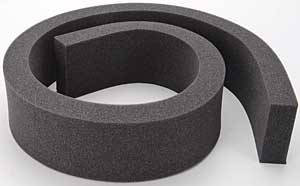 "Moroso Performance Products - Moroso Replacement Sealing Foam - Foam Measures 1.5"" W x 4"" H x 60"" L"