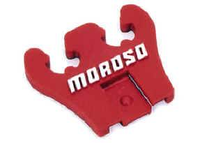 Moroso Performance Products - Moroso Replacement Red 2-Hole Wire Loom - 2-Hole Loom - Red - 7-8mm