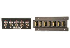 "Moroso Performance Products - Moroso Dash Mount Accessory Switch Panel - 2"" x 5.5"""