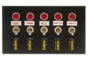 """Moroso Performance Products - Moroso Accessory Switch Panel - 4"""" x 6.75"""""""