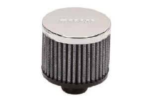 Moroso Performance Products - Moroso Valve Cover Breather - Non-Hooded Style - Push-In Type