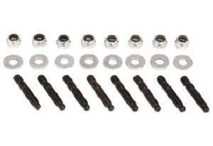"Moroso Performance Products - Moroso Bullet Nose Valve Cover Stud Kit - 1-1/2"" x 1/4""-20 - Includes Locking Nuts & Washers - 8 Pack"