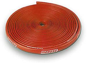 Moroso Performance Products - Moroso Blue Max 25 Ft. Plug Wire Sleeve - Insulated Spark Plug Wire Sleeve - Red