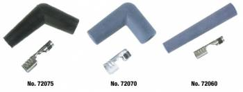 Moroso Performance Products - Moroso Spark Plug Straight Boot Set - Spark Plug Wire Boot & Terminal Kit - Straight Ends