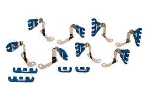 Moroso Performance Products - Moroso BB Chevy Spark Plug Wire Loom Kit - Blue - 7-8mm