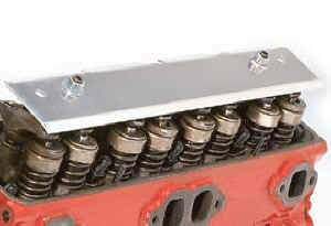 Moroso Performance Products - Moroso Valve Train Oil Deflector - SB Chevy and Ford 302 Engines w/ Stamped Rocker Arms