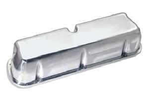 Moroso Performance Products - Moroso Die-Cast Aluminum Valve Covers - SB Ford - Fits Ford 221,260,289,302 (5.0 Liter) & 351W Engines