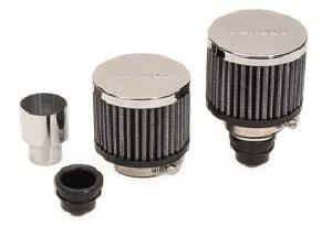 """Moroso Performance Products - Moroso Push-In Breather Kit - 1.22"""" ID Non-Hooded - 2 Pack"""