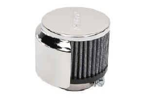 Moroso Performance Products - Moroso Hooded Valve Cover Breather - 1/2-Hood (180°) - Clamp-On Type