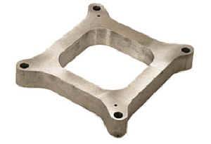 "Moroso Performance Products - Moroso 1"" Cast Aluminum Carburetor Spacer - Fits Holley® 4150/4160 Bolt Pattern - Open Plenum"