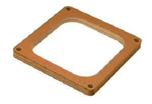 "Moroso Performance Products - Moroso 1/2"" Wood Carburetor Spacer - Single Hole - Fits Holley® Dominator Carburetors"