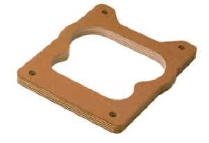 "Moroso Performance Products - Moroso 1/2"" Wood Carburetor Spacer - 1/2"" Single Hole - Fits Quadrajet Carburetors"
