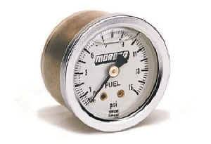 Moroso Performance Products - Moroso Fuel Pressure Gauge - 0 - 15 PSI
