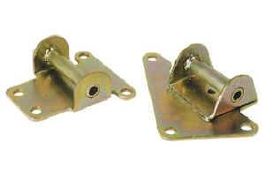Moroso Performance Products - Moroso Solid Motor Mount Pad Kit - Zinc and Yellow Chromate Plating - 1993-97 Camaro/Firebird V8