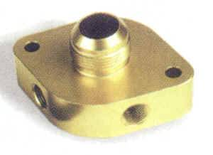 "Moroso Performance Products - Moroso Billet Water Filler Neck -16 AN Fitting and Two 3/8"" NPT Female Ports"