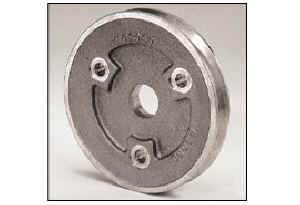 "Moroso Performance Products - Moroso Single Groove Crankshaft Pulley - SB Chevrolet - Single Groove - 1968-Earlier (With Short Water Pump) - 30% Reduction - 5.25"" O.D."