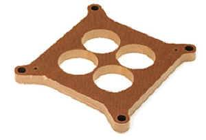 "Moroso Performance Products - Moroso Phenolic 1/2"" 4-Hole Carburetor Spacer - Fits Holley® 4150/4160 Bolt Pattern - 4-Hole Plenum Design w/ 1.75"" Diameter  Bores"