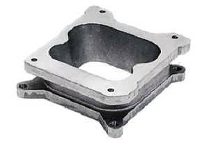 "Moroso Performance Products - Moroso 2"" Aluminum Carburetor Adapter - Adapts Quadrajet Carb to Holley 4150/4160 Intake Manifold Bolt Pattern"