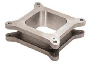 "Moroso Performance Products - Moroso 2"" Cast Aluminum Carburetor Spacer - Holley 4150/4160-series Carburetor - Open Plenum Design"