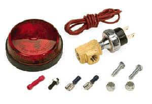 Moroso Performance Products - Moroso Low Pressure Warning Lite Kit