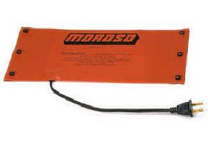 "Moroso Performance Products - Moroso External Oil Tank Heating Pad - 6""x12"" - Hook and Spring Attachment - 360 Watts"
