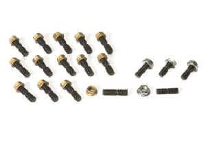 Moroso Performance Products - Moroso SB Chevy Oil Pan Stud Kit - SB and 90° V6 Chevy and Oldsmobile V8 - 18 to a Set