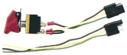 Longacre Racing Products - Longacre Ignition - Start Switch Combo w/ Momentary Start and Flip-Up Cover