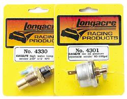 "Longacre Racing Products - Longacre 300° Oil Temp 3/8"" NPT Sender Only"
