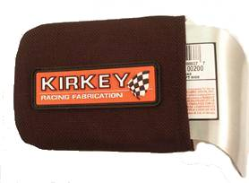 Kirkey Racing Fabrication - Kirkey Black Cloth Cover (Only) - Left - (For #KIR00200)